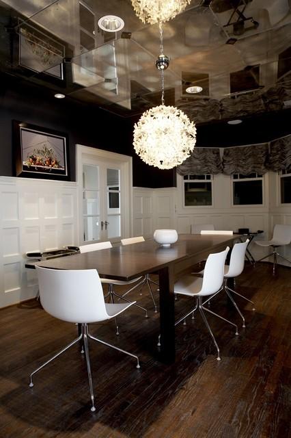 Modern Craftsman Dining Room contemporary-dining-room