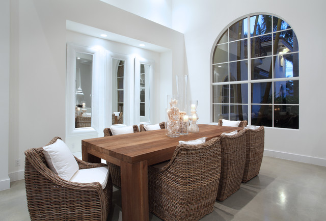 Modern Dining Modern Dining Room Miami By Brown S Interior Design