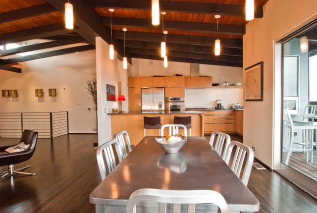 Halladay Street Remodel modern-dining-room