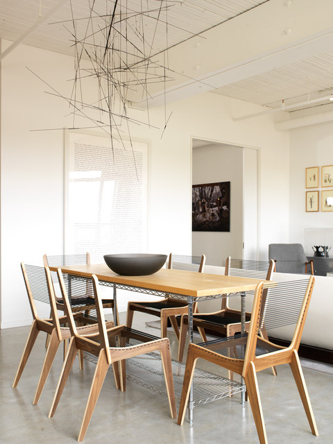 Modern dining room industrial dining room toronto for Modern dining chairs toronto