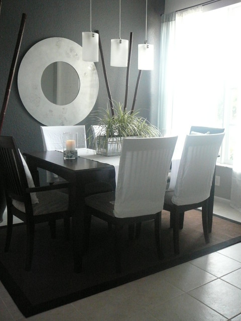 Various Versions modern dining room