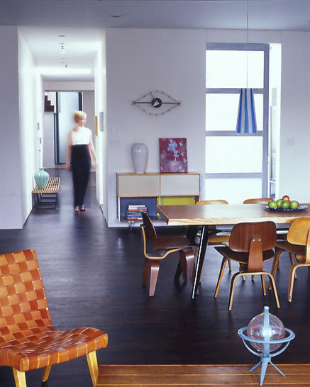 James Wagman Architect, LLC - Loft - East Village modern dining room