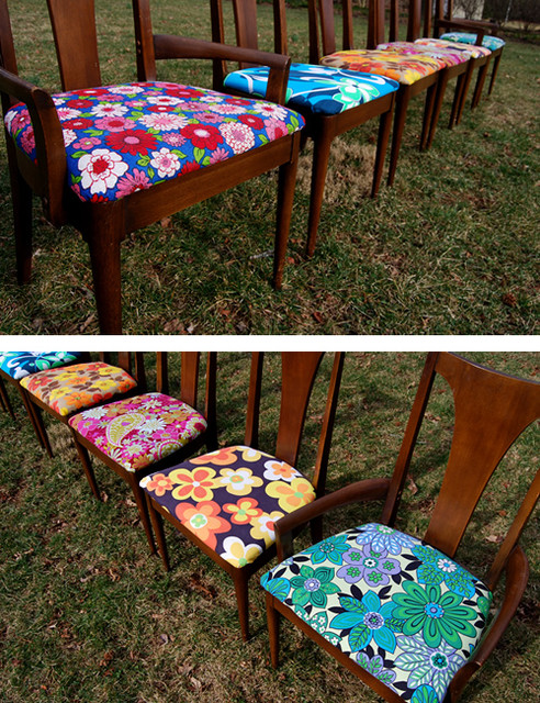 mid-century house/thrifty dining room chairs project modern-dining-room