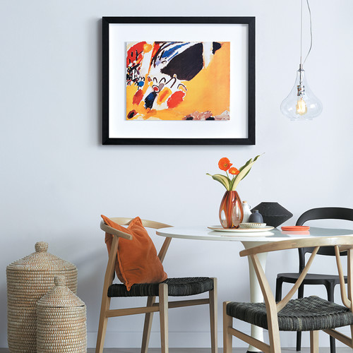 Modern Dining Room - Modern Art