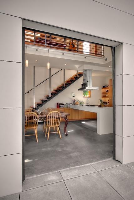 Modern Dining Room industrial-dining-room