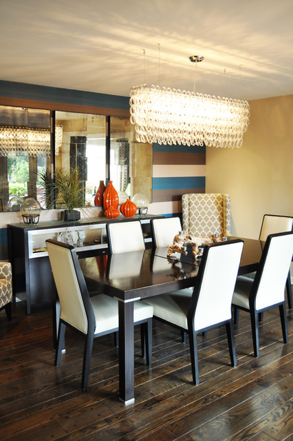 Modern Dining Room Update contemporary-dining-room