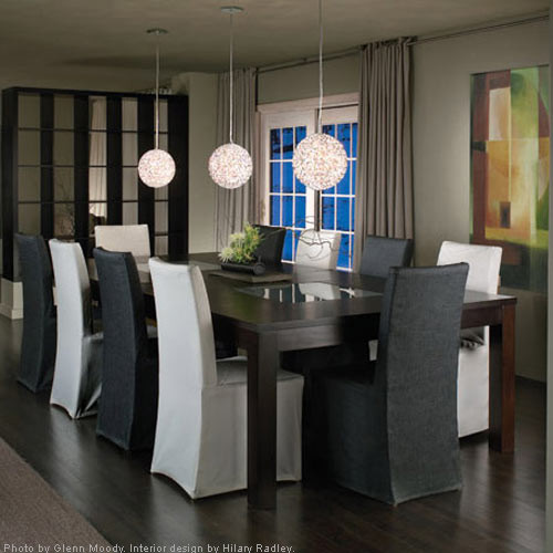 Modern Dinning Room Lighting Ideas - Traditional - Dining Room ...