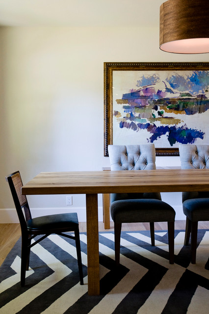 Modern Eclectic modern-dining-room