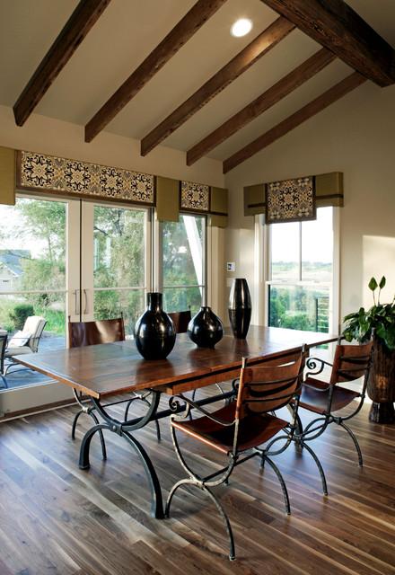 Modern Farmhouse Dining Room Office Reveal: Modern Farmhouse