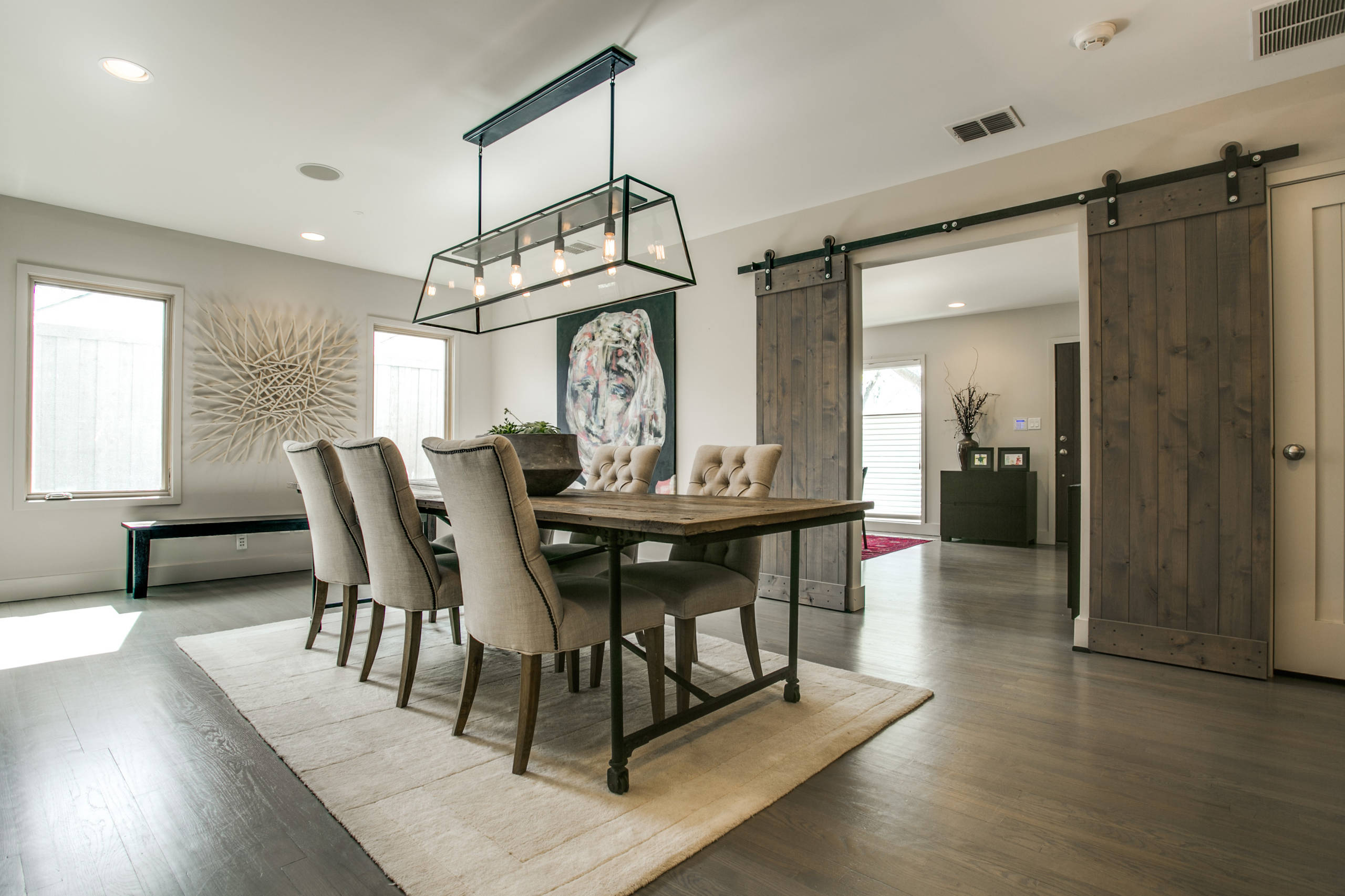 75 Beautiful Farmhouse Dining Room Pictures Ideas February 2021 Houzz