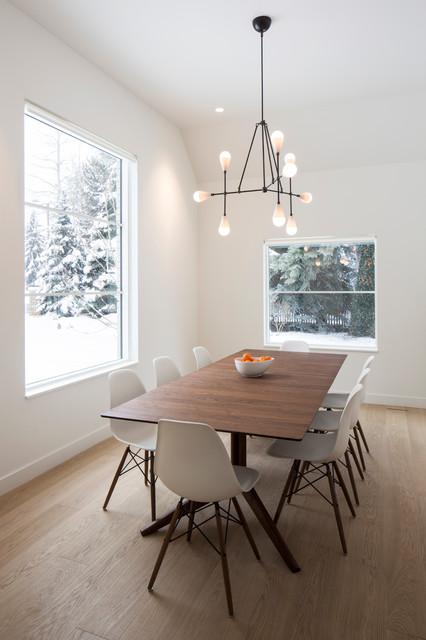 Modern farmhouse scandinavian dining room salt lake - Scandinavian dining room ...
