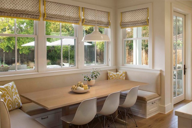 Modern farmhouse Farmhouse Dining Room san francisco by Modern Organi
