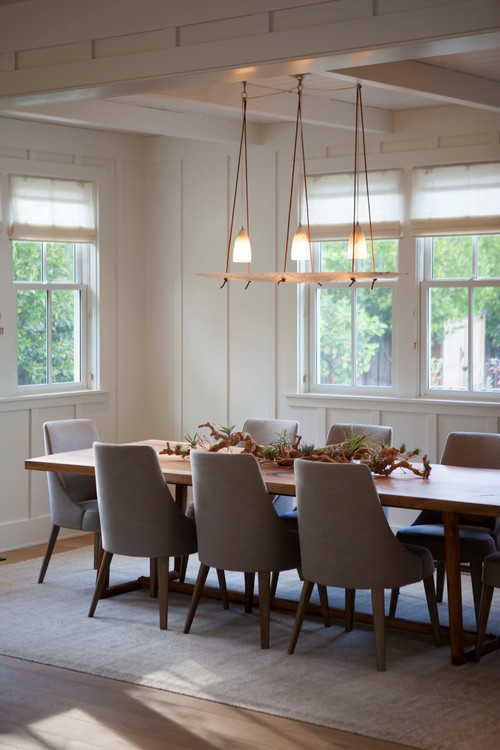 Farmhouse Dining Room By Oakland Interior Designers Decorators Modern Organic Interiors