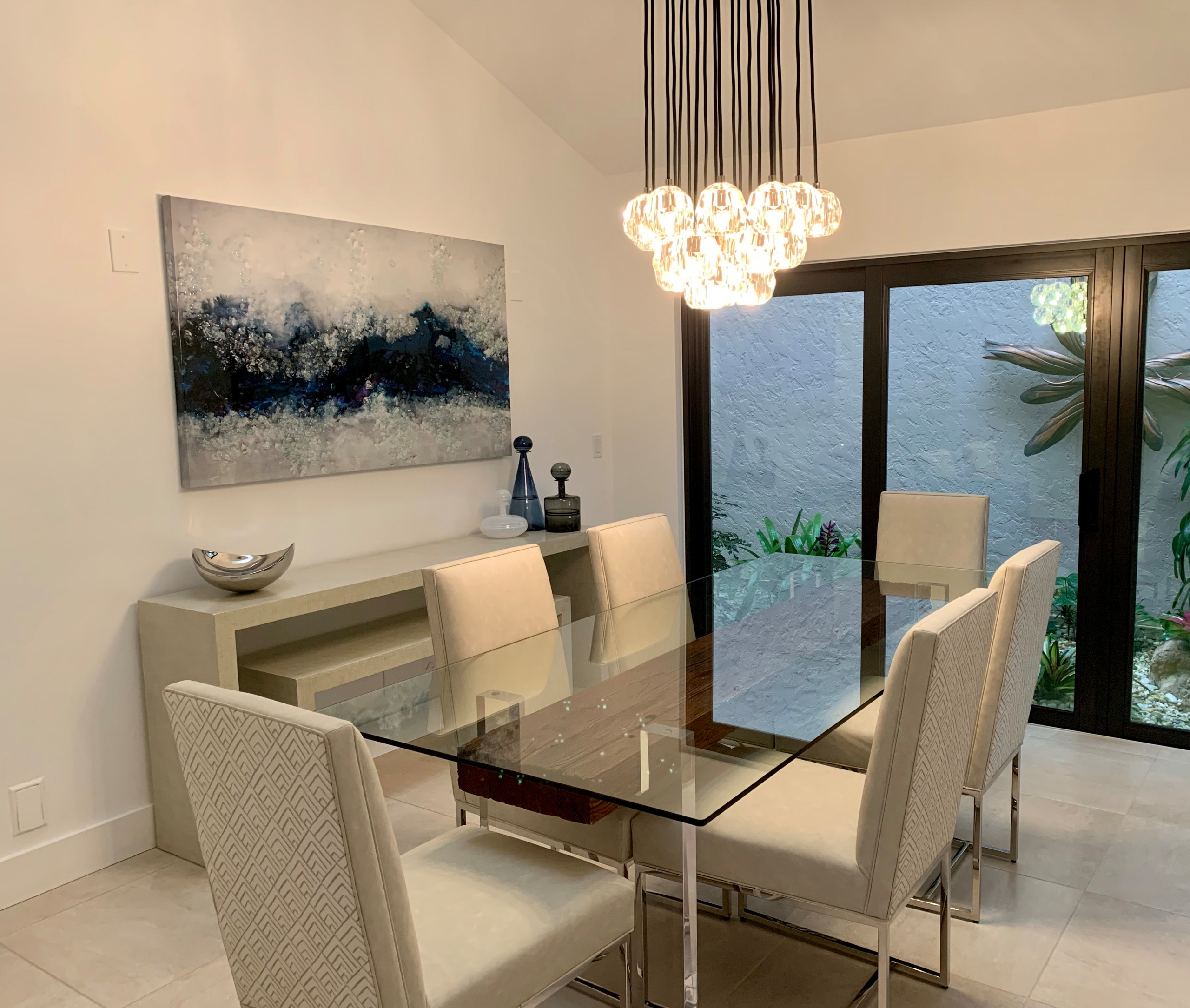 Modern Florida Dining Room