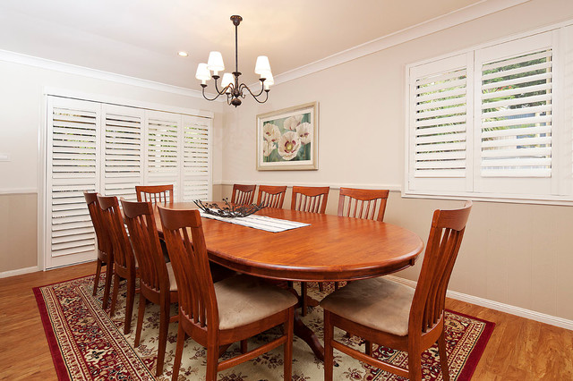 Country modern dining room