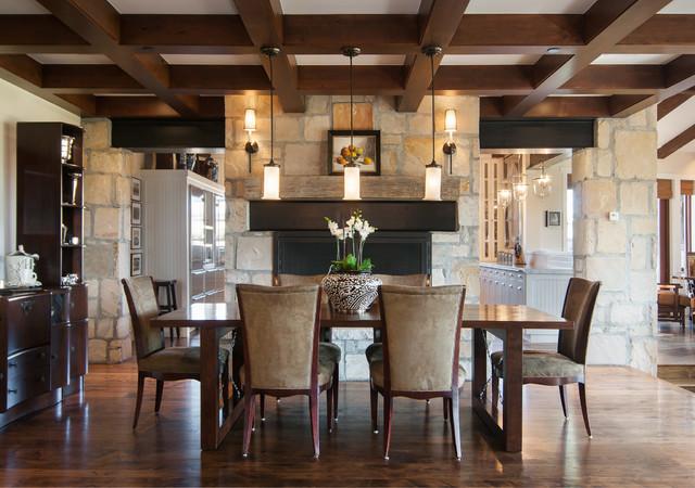 Modern Frontier Park City Utah Rustic Dining Room
