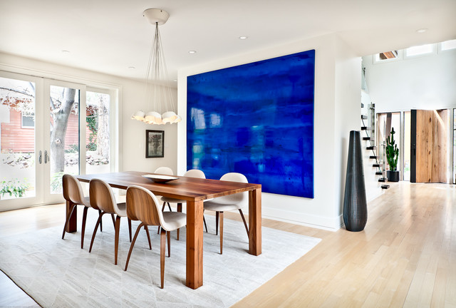 Modern Home | Kimberly Demmy Design contemporary-dining-room