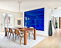 Modern Home   Kimberly Demmy Design contemporary-dining-room