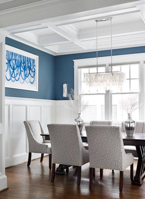 Modern home makeover modern dining room atlanta by - Home interior decorators in atlanta ga ...