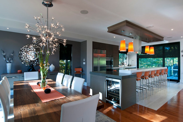Modern In Mississauga Contemporary Dining Room Toronto By Black Tusk Development Group Ltd