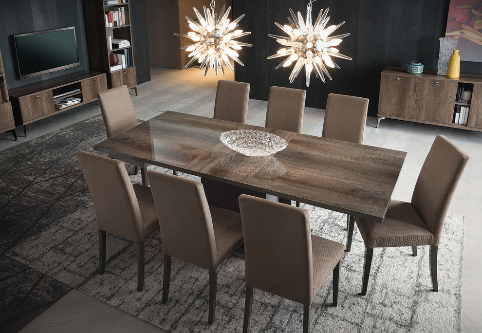 Modern Italian Dining Table Vega By Alf, Italian Contemporary Dining Room Sets