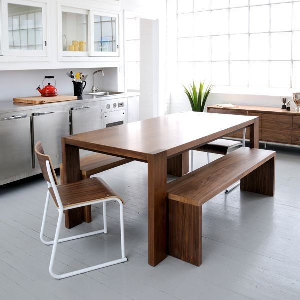 Modern kitchen tables Kitchen table with bench and chairs