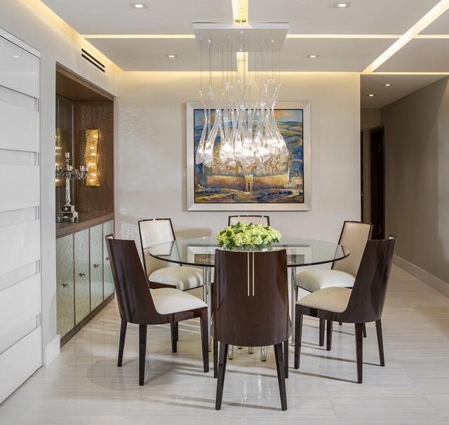 Modern Miami Condo Custom Cabinetry Design