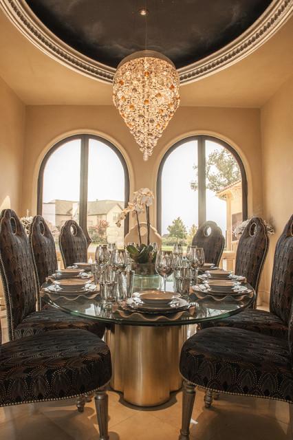 Modern Moroccan Dining Room Mediterranean Dining Room Dallas