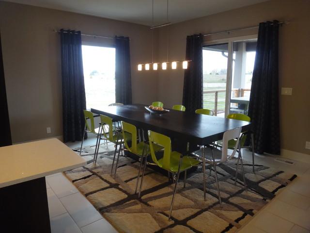 Modern Open Dining Room modern-dining-room