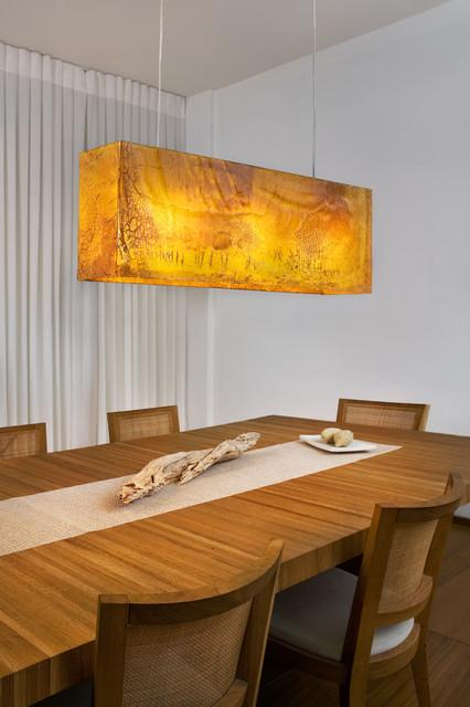 Art Glass chandelier  - modern lights by GalileeLighting modern-dining-room