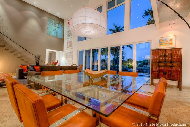 Modern Space Contemporary Dining Room Miami By