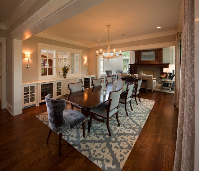 Transitional Dining Room: Modern Twist On Tradition
