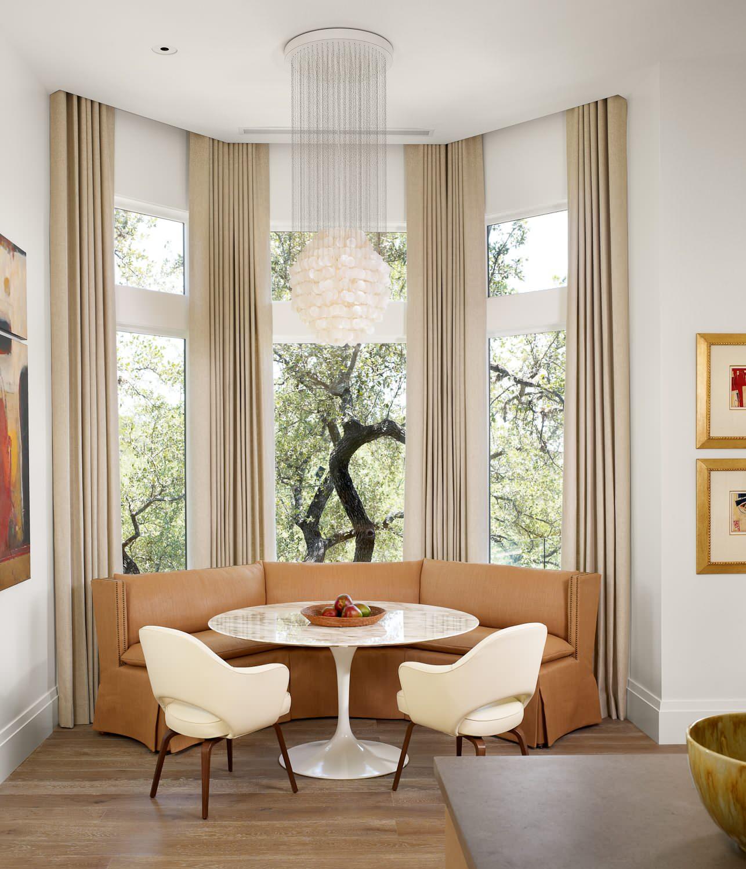 Bay Window Curtain Ideas Houzz