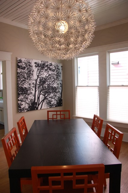 Modern Vintage Dining Room eclectic-dining-room