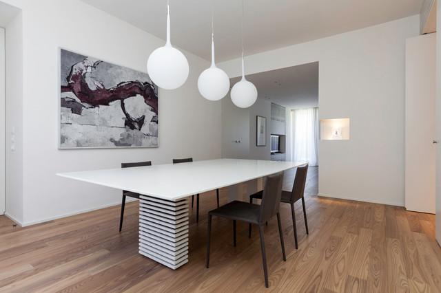 Moderno sala da pranzo - Tende sala moderna ...