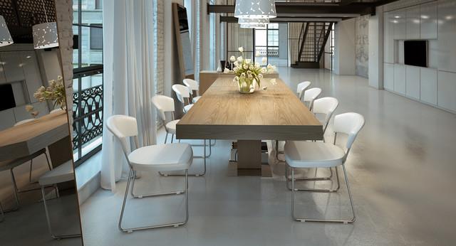 Modloft Astor Extendable Dining Table amp Room