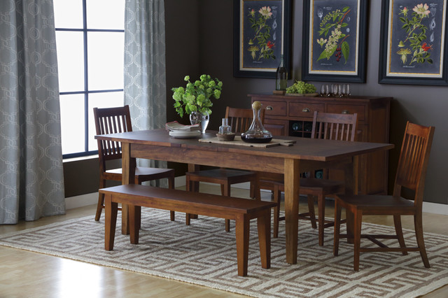 Montgomery 5 piece dining set traditional dining room boston by boston interiors for Boston interiors bedroom furniture