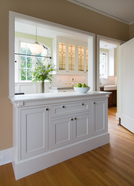 Montgomery Dr. Hutch - Traditional - Dining Room - portland - by Rockwood Cabinetry