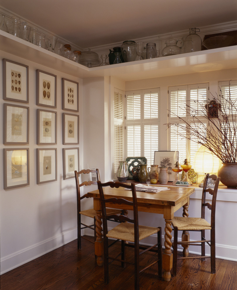 Inspiration for a timeless kitchen/dining room combo remodel in Seattle