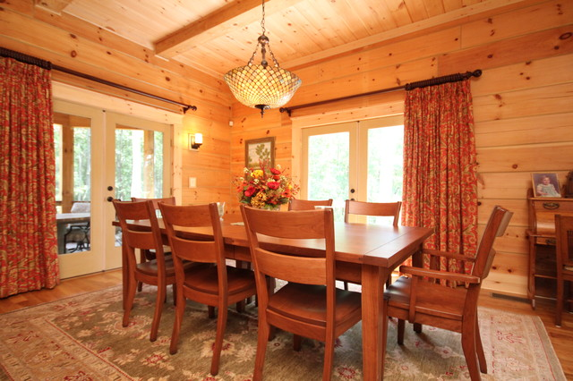 Log Cabin Dining Room Ideas - Home Design - Health-support.us