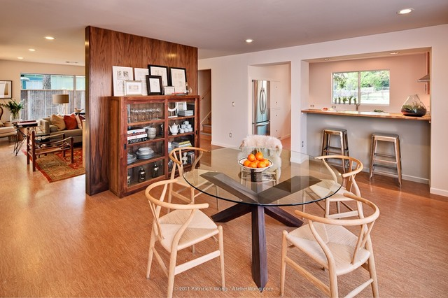 Moontower Residence Contemporary Dining Room