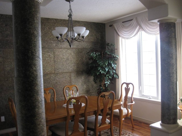 Mopierra Better Slate Decorative Panels traditional-dining-room