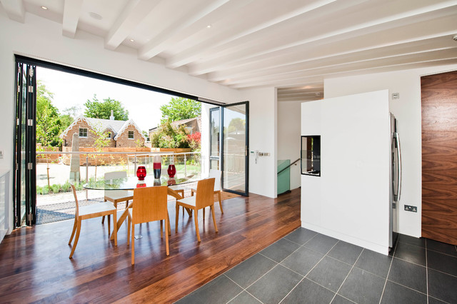 contemporary dining room by Warwick Avenue