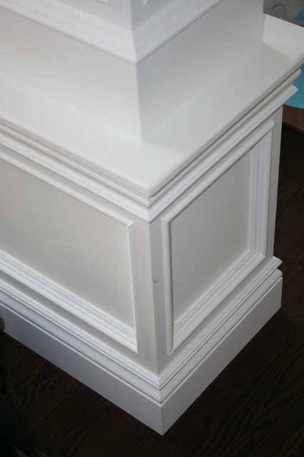 More customized molding moulding ideas contemporary for Dining room trim ideas