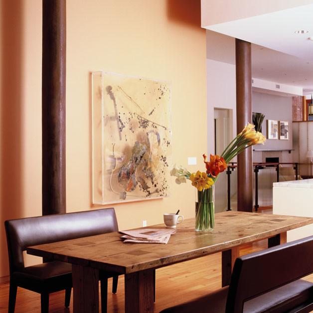 morgan loft modern dining room new york by spg princeton interior traditional dining room