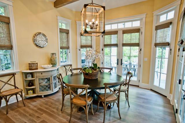 Morning room traditional dining room los angeles for Dining room vs living room
