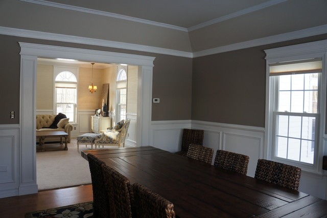 Moulding And Trim Traditional Dining Room New York