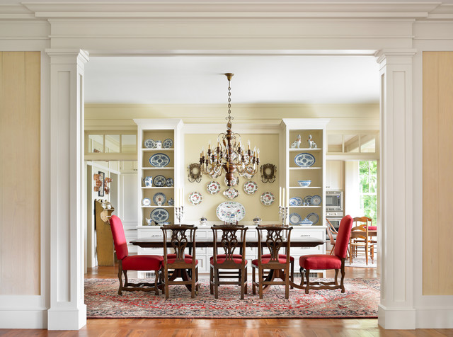 Mountain High Style Traditional Dining Room
