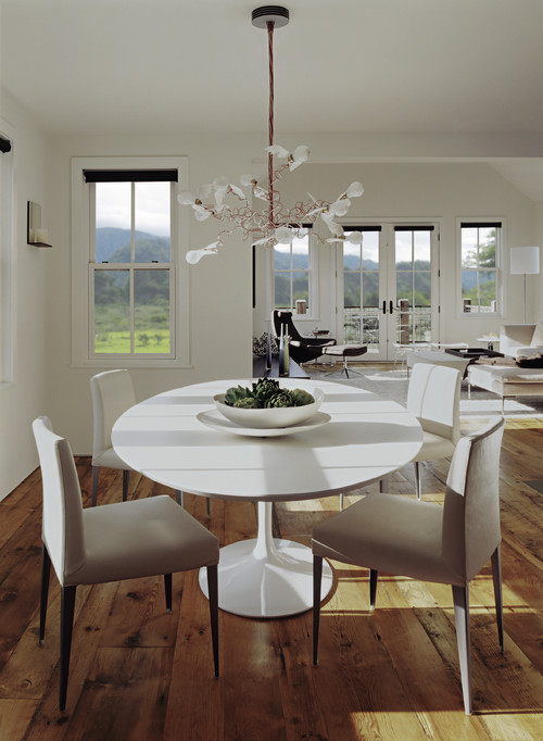 Mountain House eclectic dining room