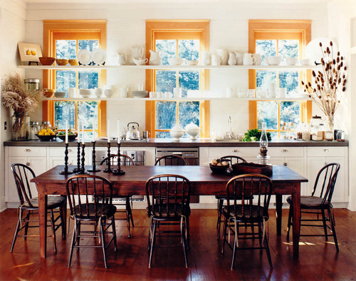 Traditional Dining Room Design By Seattle Architect Bosworth Hoedemaker